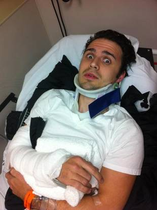 Kris Allen Breaks Arm in Serious Car Crash — Also Announces He's Going to Be a Dad!