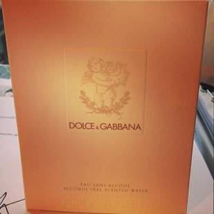 Dolce & Gabbana Releases Perfume For Babies