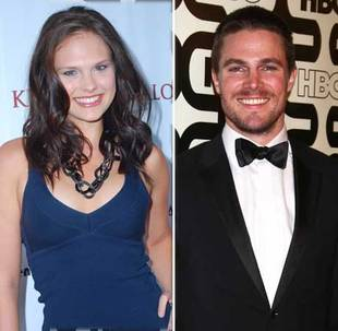 Arrow Star Stephen Amell Marries America's Next Top Model Alum Cassandra Jean