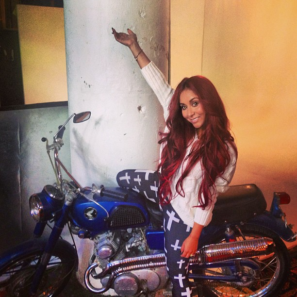 """Snooki Says, I """"LOVE My Diet Meals!"""" What Is She Eating? (PHOTO)"""