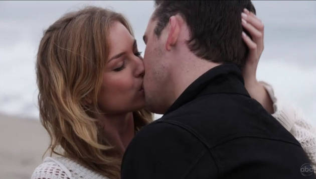 Revenge's Barry Sloane Talks Making Out With Emily Vancamp in Front of Josh Bowman