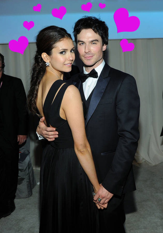 The Vampire Diaries' Ian Somerhalder and Nina Dobrev: Hotter Than Brangelina?