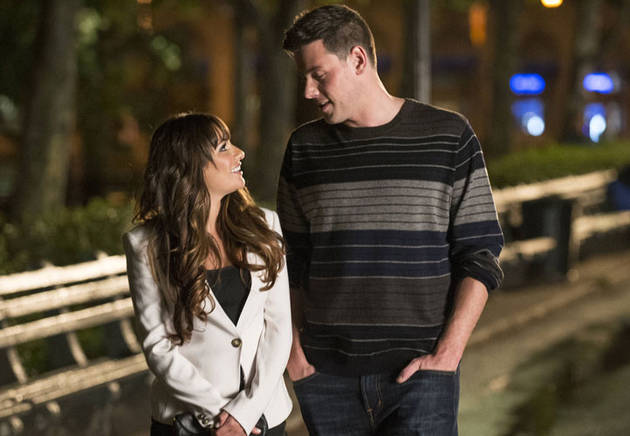 "Lea Michele Says Rachel Is ""Meant to Be"" with Finn"