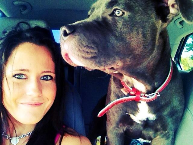 Jenelle Evans Lets Gary Head Reunite With Their Pitbull Puppy!