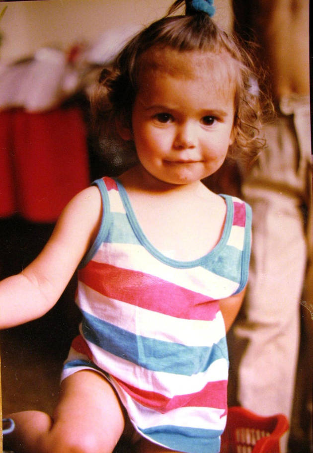 Nina Dobrev as a Baby! Vampire Diaries Cute Pic of the Day!