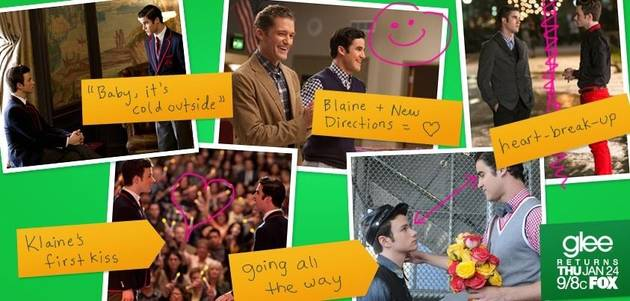 Does Darren Criss Want Glee's Klaine to Get Back Together?