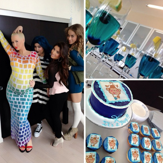 """Pregnant Amber Rose Celebrates """"Down Home Baby Shower"""" (PHOTOS)"""