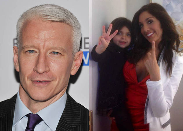 Anderson Cooper Slams Teen Mom's Farrah Abraham For Plucking and Waxing Sophia's Eyebrows