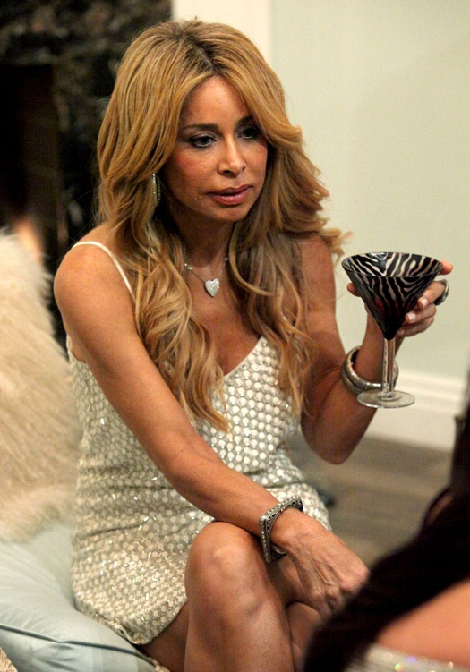Faye Resnick Doesn't Feel Bad About Confronting Brandi Glanville in Real Housewives of Beverly Hills Season 3, Episode 8