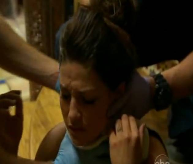 Bachelor 2013 Promo Analysis: Tierra LiCausi Gets a Neck Brace