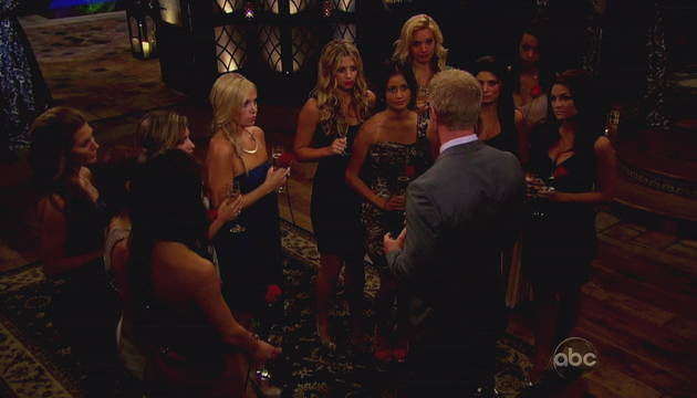 The Bachelor 2013 Recap: Sean Keeps Tierra — and Finally Kisses Catherine