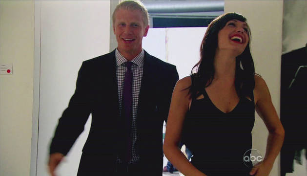"Bachelor Sean Lowe on Kissing Desiree — and Who He Thinks Is ""The One""!"