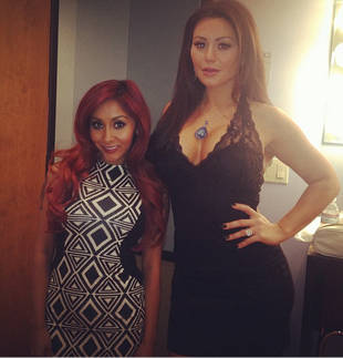 Snooki and JWOWW Talk Weddings, Chat With Billy Crystal on Jay Leno (PHOTO)