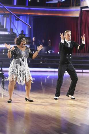 Dancing With the Stars 2013: Amber Riley and Derek Hough's Week 6 Samba (VIDEO)