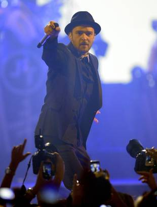Justin Timberlake Wows iTunes Festival Crowd — and Adele!