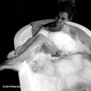Nina Dobrev Shares Super Sexy Sudsy Bathtime Photos From Vampire Diaries Set!
