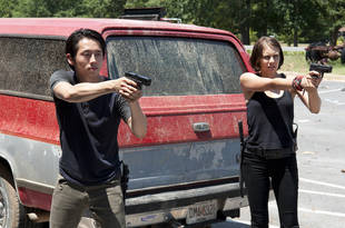 The Walking Dead Season 4: Would Maggie Greene Ever Have a Baby? Lauren Cohan Says…
