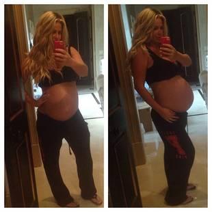 Pregnant Kim Zolciak Reveals Due Date!