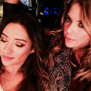 Ashley Benson and Shay Mitchell Have a Late Night in Rosewood (PHOTO)