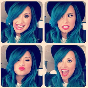 Demi Lovato Reveals the Surprising Reason She Dyed Her Hair Blue