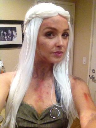 Check Out Grey's Anatomy Star Camilla Luddington as Game of Thrones' Khaleesi! (PHOTO)