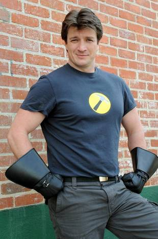 Nathan Fillion Goes to NBC's Community — Who's the Castle Star Playing?