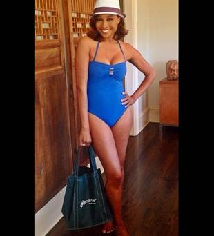 Cynthia Bailey Shows Off Beach-Ready Body Thanks to New Diet (PHOTO)