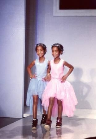 "Sean ""Diddy"" Combs's Daughters Walk Kids' Fashion Week in NYC (PHOTOS)"