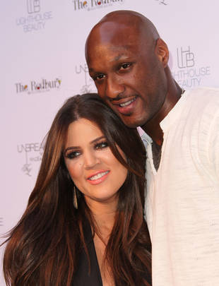 Khloe Kardashian and Lamar Odom Face Off at Tarzana Home — Report