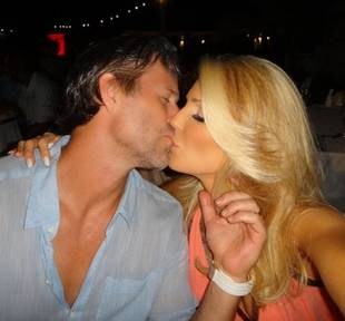 Gretchen Rossi and Slade Smiley's Romantic Kiss — PDA Alert! (PHOTO)