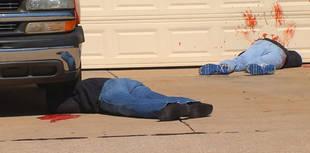 Very Realistic Halloween 'Dead Body' Decorations Terrify Oklahoma Neighborhood