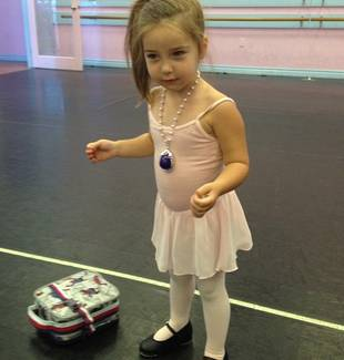 Heather Dubrow's Baby Girl Collette's First Day of Dance Class (PHOTO)