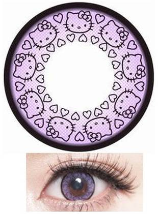 Hello Kitty Contact Lenses — Just in Time For Halloween!