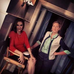 Pretty Little Liars Season 4 Spoilers: Mrs. DiLaurentis and Mrs. Hastings Talk in Episode 21 (PHOTO)