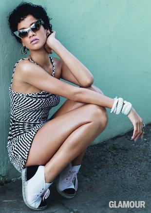 "Rihanna Talks Fashion, Fearlessness, and ""Gangsta"" Princess Diana"