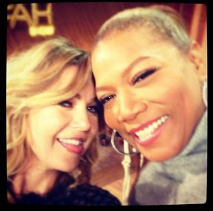Ellen Pompeo Hangs Out With Queen Latifah in Flawless Photo