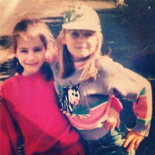 Pretty Little Liars' Troian Bellisario Tweets Adorable Childhood Photo — With Ashley Olsen?