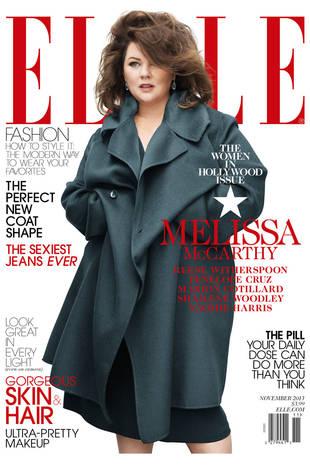 Elle Slammed for Covering Up Melissa McCarthy on Cover (UPDATE: She Responds!)