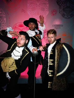 Maks and Val Chmerkovskiy Channel the Three Musketeers For Amazing Halloween Costumes (PHOTOS)