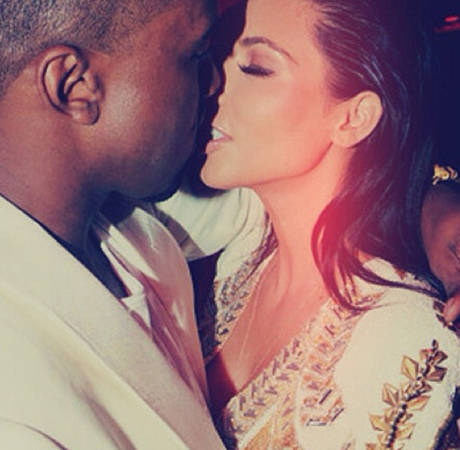 Engaged Kim Kardashian and Kanye West's Movie Date — at a Normal Theater!