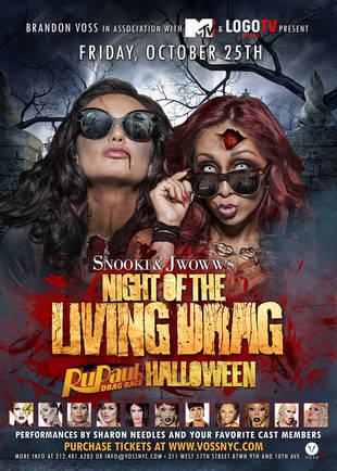 Snooki and JWOWW Host RuPaul's Drag Race Halloween Party (PHOTO)