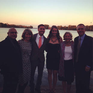Michael Stagliano and Emily Tuchscherer Share Engagement Party Pics!