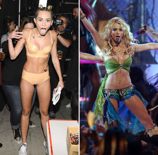 Miley Cyrus and Britney Spears Song Collaboration Leaked! Listen Here