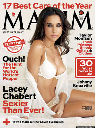 Mean Girls' Lacey Chabert Strips Down For Sexy Maxim Cover! (PHOTO)