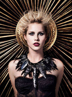 "Claire Holt Visits a Haunted House — ""I Have Really Sweaty Hands"" (VIDEO)"