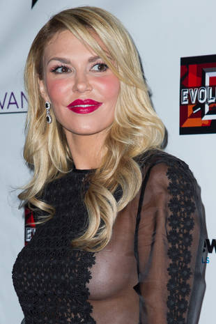 Brandi Glanville Shows Off Underboob at RHOBH Premiere Party (PHOTO)