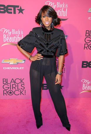 Kelly Rowland Flashes Her Underwear in Totally See-Through Pants