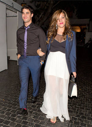 Darren Criss Enjoys a Romantic Night on the Town With His Girlfriend