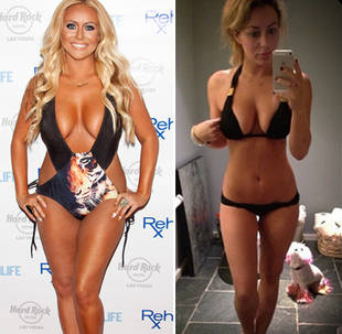 Aubrey O'Day Shows Off Dramatic Weight Loss in Bikini Pic: Before and After (PHOTOS)