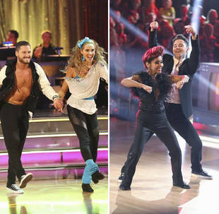 Dancing With the Stars Reveals Female Celeb in Jeopardy at Start of Show: Cast Reacts to Twist